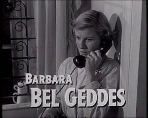Barbara Bel Geddes - Barbara Bel Geddes in Panic in the Streets (1950)