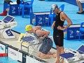 Kazan 2015 - Seebohm and Fesikova semi 100m backstroke.JPG