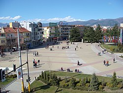 The Center of Kazanlak