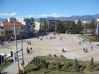 Kazanlak Place in Stara Zagora, Bulgaria