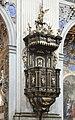 Kazatelna v kostele sv. Vojtěcha v Broumově, 1671-1672.jpg