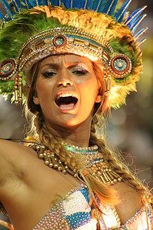 Видео оргии бразильского карнавала
