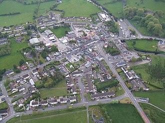 Kesh, County Fermanagh - Image: Kesh, Co.Fermanagh geograph.org.uk 304288