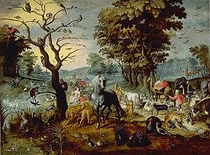 Entry into Noah's Ark