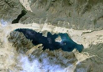 Khar Lake (Zavkhan) - Image: Khar Nuur lake, Zavkhan aimag, Mongolia