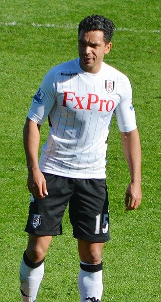 Kieran Richardson - Richardson playing for Fulham in 2013