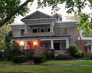 National Register of Historic Places listings in Benton County, Oregon - Image: Kiger House Corvallis Oregon