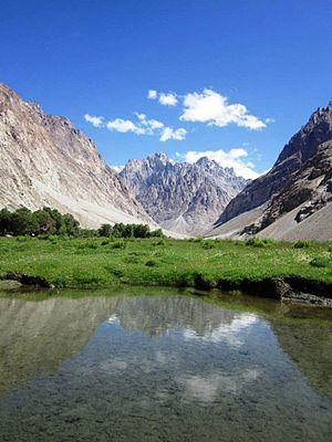 Kilik Pass - Image: Kilik pass near morkoshi pakistan