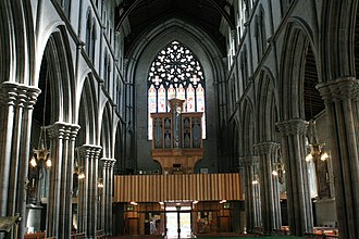St Mary's Cathedral, Kilkenny - Image: Kilkenny St Mary Cathedral Nave 2007 08 29