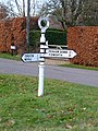 Kimpton - Road Sign - geograph.org.uk - 1104107.jpg