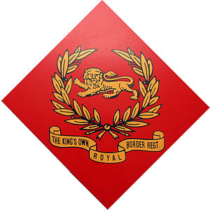 King's Own Royal Border Regiment - Image: King's Own Royal Border Regimental Badge 1959 2006
