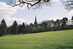 Kings Norton - Kings Norton Park - a gift from The Birmingham Civic Society