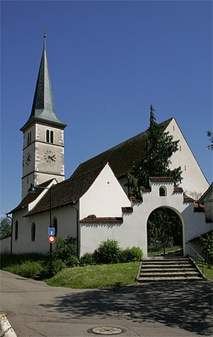 Therwil - Image: Kirche St.Stephan Therwil