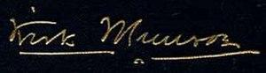 Kirk Munroe - Image: Kirk Munroe sign
