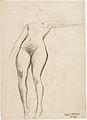 Klimt - Schwebende mit gesenktem rechten und waagrechtem linken Arm.jpeg