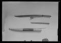Kniv av yatagantyp, Osmanska riket, 1825 ca - Livrustkammaren - 8902.tif