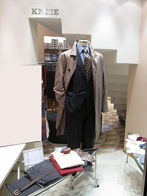 Suit by Kniže in Vienna's I. district