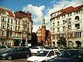 Kościół klarysek w Bydgoszczy-widok z Placu Teatralnego.JPG