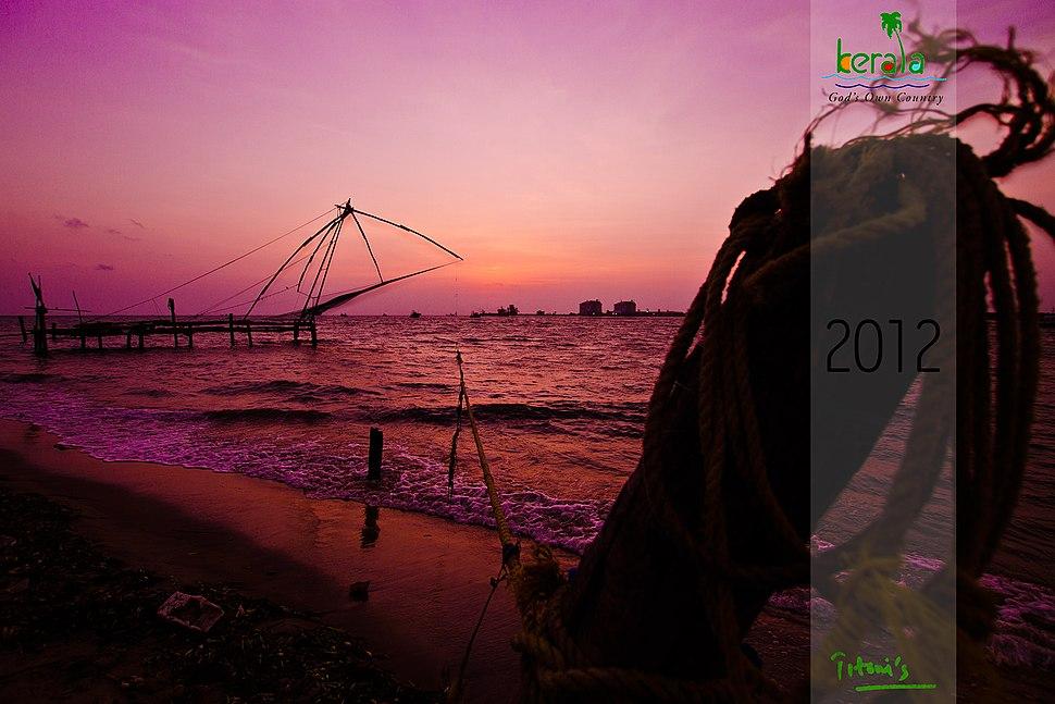 Kochi - Chinese fishing net