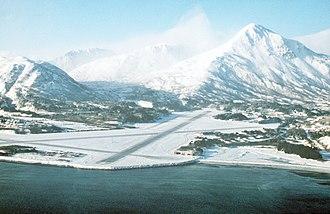 Coast Guard Base Kodiak - Kodiak Air Station, January 1989