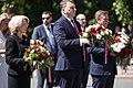 Komunistiskā genocīda upuru piemiņas dienai veltītā ziedu nolikšanas ceremonija pie Brīvības pieminekļa (41892779215).jpg