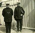 Konduktørene Karl Johnsen og Laurits Lie i sommeruniform (1923) (4271493918).jpg