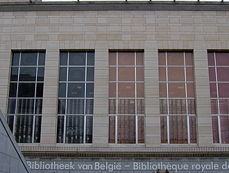 Royal Library of Belgium - Image: Kongelige bibliotek (4888584851)