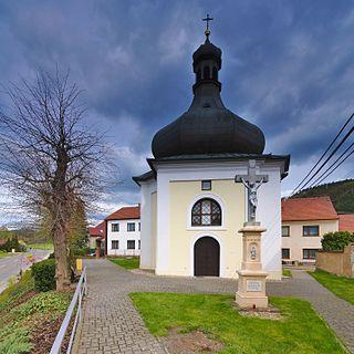 Lhota Rapotina Municipality in South Moravian, Czech Republic