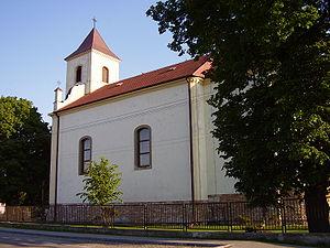 Jarovce - A church in Jarovce