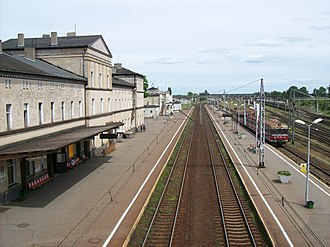 Krzyż railway station - Krzyż railway station