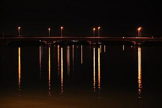 Malaysia Federal Route 5 - Image: Kuala Selangor bridge