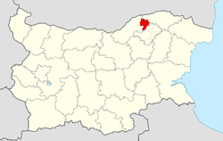 Kubrat Municipality within Bulgaria and Razgrad Province.