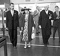 Kungaparet besöker MS Trelleborgs utställning 1958 JvmKBDB08383.jpg