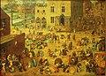 Kunsthistorisches Museum Wien, Pieter Bruegel d.Ä., spielende Kinder.JPG
