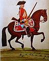 Kurhannoversche Legion Britannique 1761 - Dragoner 4. Eskadron Gmundener Prachtwerk.JPG