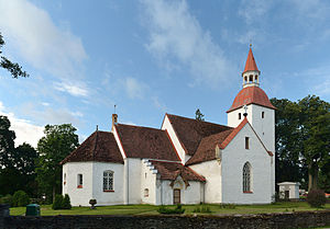 Kuusalu Parish - Image: Kuusalu kirik 2012