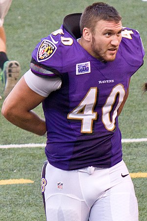 Kyle Juszczyk - Juszczyk with the Baltimore Ravens in 2013