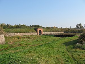 Kyminlinna - The main gate on the south-western side of the fortress