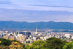 Kyoto - Skyline of Kyoto City
