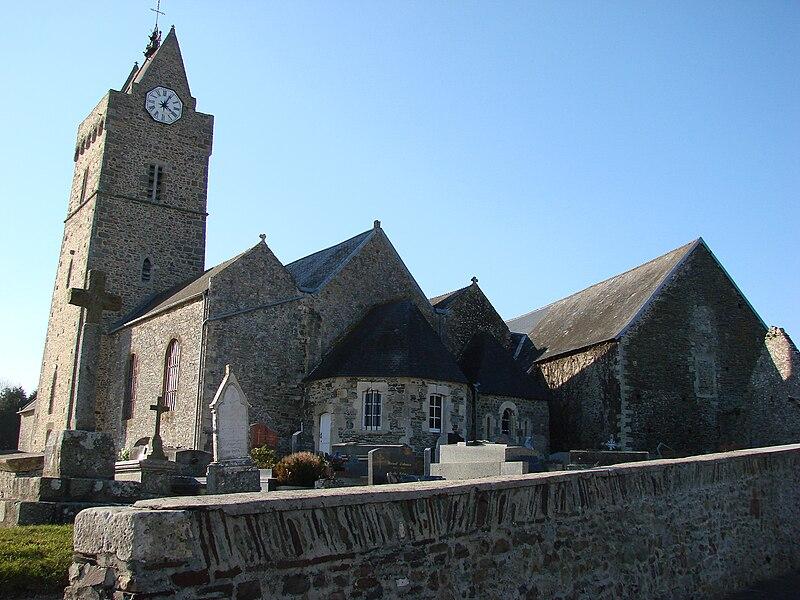 Church of saint germain sur ay