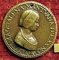 L'antico (maniera), medaglia di maddalena di mantova (ignota).JPG