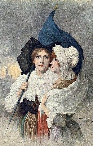 Léon Hornecker - La Patrie retrouvée (The Fatherland recovered, 1919)