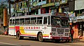 LANKA ASHOK LEYLAND BUS OPERATED BY JANADHI TRAVELS AT BENTOTA BUS STATION BOUND FOR GALLE SRI LANKA JAN 2013 (8580307998).jpg