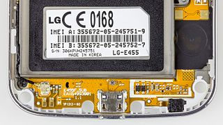 LG E455 Optimus L5 II Dual - bottom printed circuit board-2345.jpg