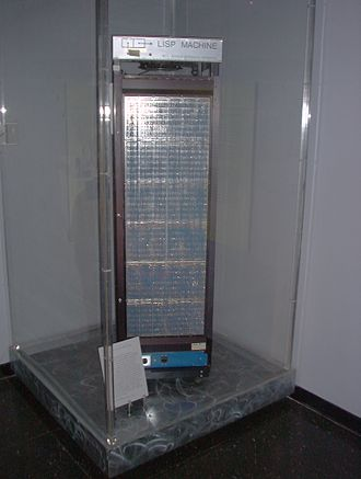 Lisp machine - A Knight machine preserved in the MIT Museum.