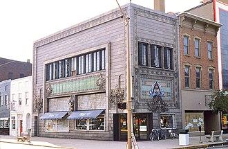 Home Building Association Bank - Image: LS Newark Bank 0