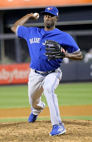 LaTroy Hawkins - Hawkins with the Toronto Blue Jays