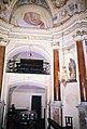 La Cappelletta, 1983, dopo i restauri, la statua di San Giuseppe.jpg