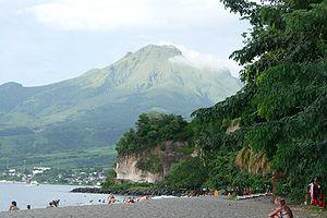 Mount Pelée - Image: La Pelée vue du Carbet