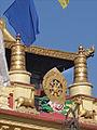 La Roue de la Loi (Gompa Dongak Chöling de Swayambhunath) (8435900332).jpg